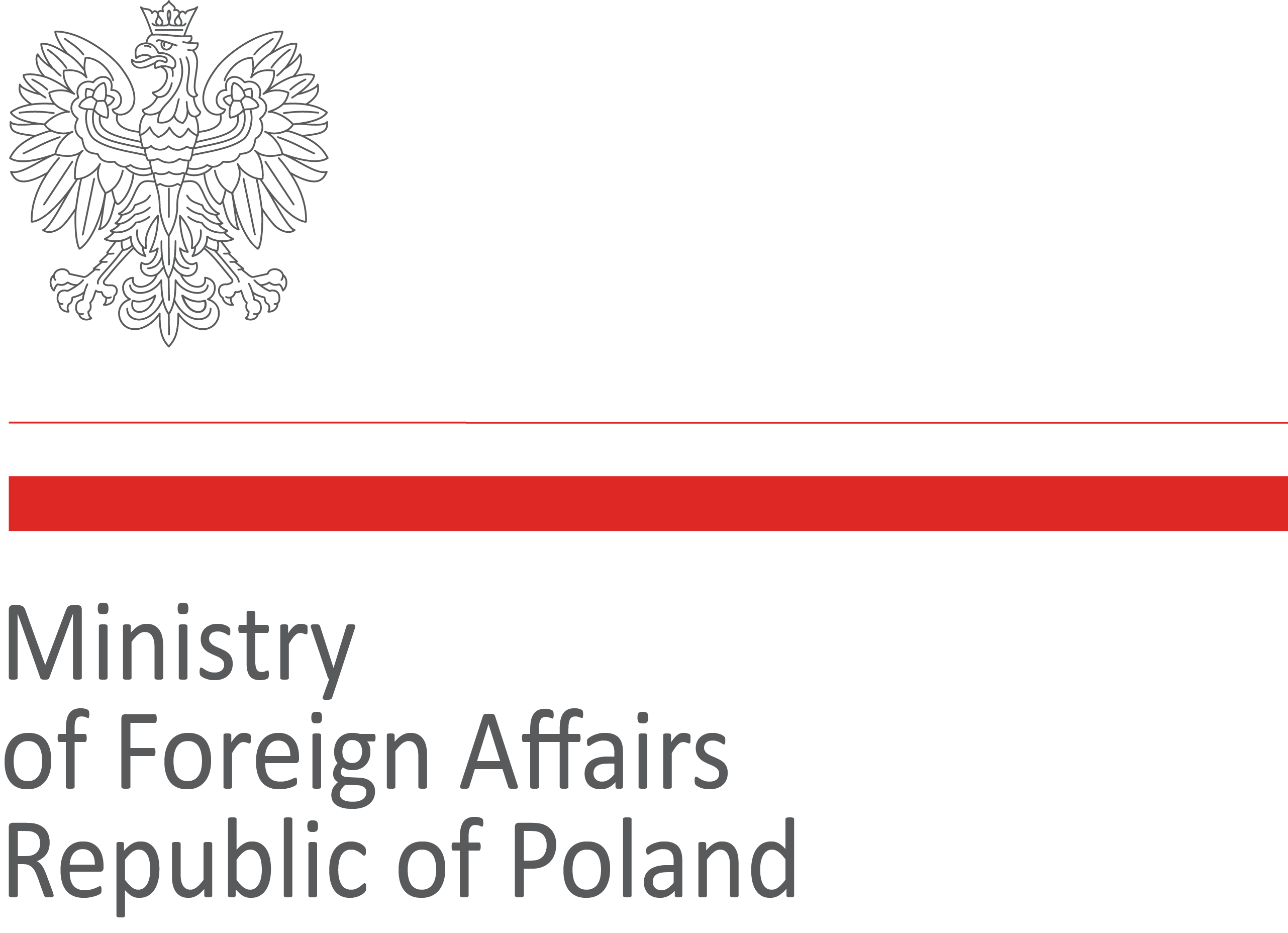 logo Miistry of Foreign Affairs Republic of Poland